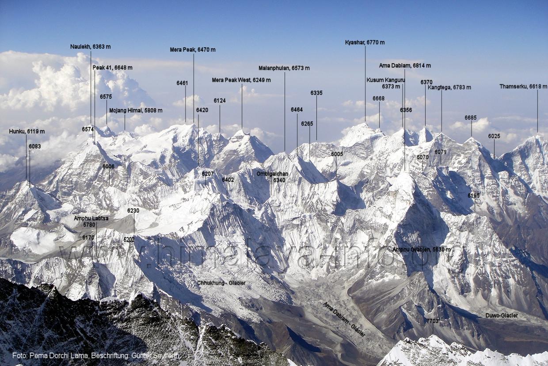 Kitchen Island Base Mount Everest Panorama